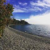 Caída en el lago Superior Fotografía de archivo libre de regalías