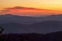 Caída en el parque nacional de Great Smoky Mountains imágenes de archivo libres de regalías