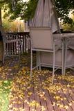Caída en el patio trasero Foto de archivo libre de regalías