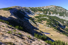 Caída en la montaña Fotografía de archivo