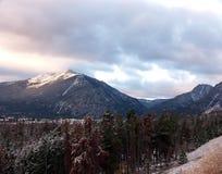 Caída en las montañas de Colorado Imagen de archivo libre de regalías