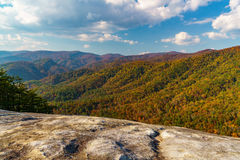 Caída en Stone Mountain Imágenes de archivo libres de regalías