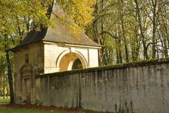 Caída en Versalles Imagen de archivo