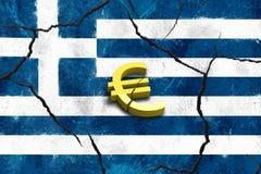 Caída griega Fotos de archivo