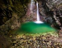 Caída hermosa en Eslovenia Imagen de archivo