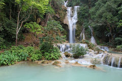 Caída Luang Prabang Laos del agua Imagenes de archivo