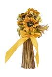 Caída y Autumn Colored Flower Arrangment foto de archivo