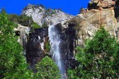 Caída Yosemite de Bridalveil fotografía de archivo