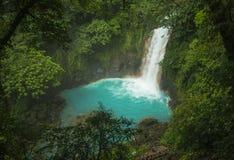 Caídas azules del río foto de archivo
