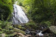 Caídas de Crabtree, Carolina del Norte Imagen de archivo libre de regalías