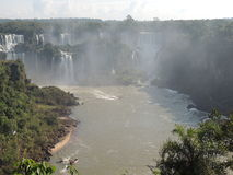 Caídas de Iguaçu Imágenes de archivo libres de regalías