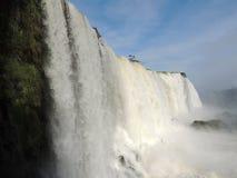 Caídas de Iguaçu Foto de archivo libre de regalías