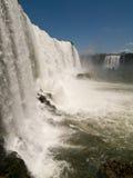 Caídas de Iguacu, el Brasil. Imagen de archivo libre de regalías