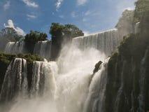 Caídas de Iguacu, la Argentina. Foto de archivo libre de regalías