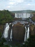Caídas de Iguassu, el Brasil Imagen de archivo