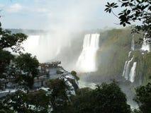 Caídas de Iguassu, el Brasil Fotografía de archivo libre de regalías