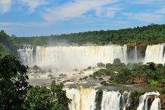 Caídas de Iguassu, el Brasil Foto de archivo libre de regalías