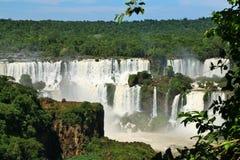 Caídas de Iguassu, el Brasil Fotos de archivo libres de regalías
