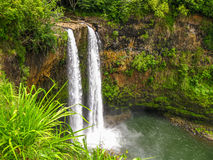 Caídas de Jurassic Park, kawaii, Hawaii Imagen de archivo