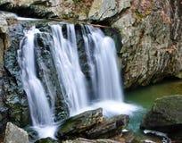 Kilgore baja en el parque de estado de las rocas, Maryland Imagen de archivo libre de regalías