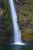 Caídas de la cola de caballo de Oregon Imágenes de archivo libres de regalías