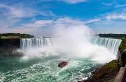 Caídas de la herradura de Niagara Falls imágenes de archivo libres de regalías
