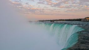 Caídas de la herradura de Niagara Falls almacen de video