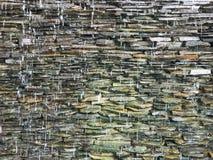 caídas de la pared Foto de archivo libre de regalías