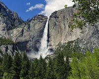 Caídas de la parte superior de Yosemite Fotos de archivo libres de regalías