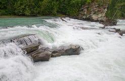 Caídas de la retaguardia de Fraser River Foto de archivo