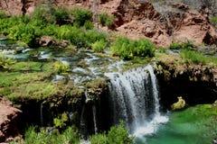 Caídas de Navajo - barranca magnífica Fotografía de archivo