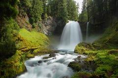 Caídas de Sahalie, Oregon Foto de archivo