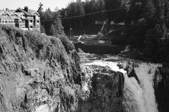 Caídas de Snoqualmie Fotografía de archivo