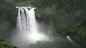 Caídas de Snoqualmie, Washington State, 4K UHD metrajes