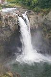 Caídas de Snoqualmie, Washington, vertical imagen de archivo libre de regalías