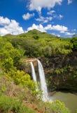 Caídas de Wailua Imagen de archivo libre de regalías