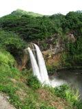 Caídas de Wailua, Kauai, Hawaii Imagen de archivo