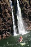 Caídas del agua de Iguazu Foto de archivo libre de regalías
