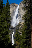 Caídas del agua de Yosemite imagenes de archivo
