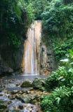Caídas del diamante, St Lucia fotografía de archivo libre de regalías
