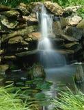 Caídas del jardín del agua Imagen de archivo