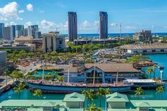 Caídas del museo marítimo de Clyde - de Hawaii Fotos de archivo
