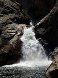 Caídas del río del rugido, reyes Canyon imagen de archivo libre de regalías