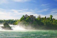 Caídas del Rin. imagen de archivo