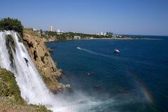 Caídas en Antalya Fotos de archivo libres de regalías