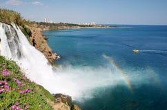 Caídas en Antalya Imagen de archivo libre de regalías