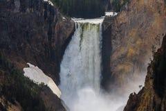 Caídas más bajas de Yellowstone, parque nacional de Yellowstone, Wyoming, los E.E.U.U. imágenes de archivo libres de regalías