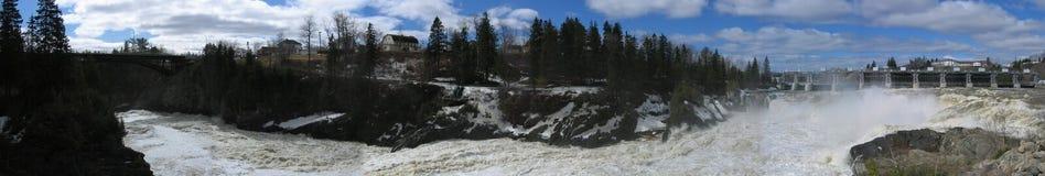 Caídas magníficas Nuevo Brunswick Canadá Imagen de archivo