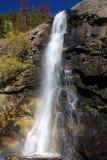 Caídas nupciales del velo - parque nacional de la montaña rocosa Imagenes de archivo