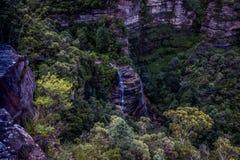 Caídas nupciales del velo, parque nacional de las montañas azules Imagen de archivo libre de regalías